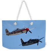Sea Fury And Bearcat Weekender Tote Bag