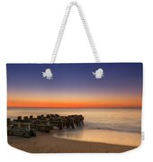 Sea Girt Pilings  Weekender Tote Bag