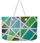 Sea Glass Revisited Weekender Tote Bag