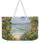 Sea Grape Heart Weekender Tote Bag
