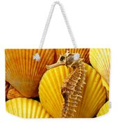 Sea Horse And Sea Shells Weekender Tote Bag