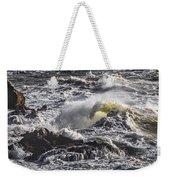 Sea In Turmoil Weekender Tote Bag