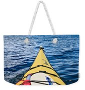 Sea Kayaking Weekender Tote Bag