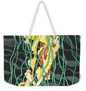 Sea Lightning Weekender Tote Bag