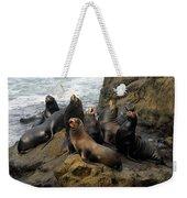 Sea Lion Chorus Weekender Tote Bag