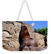 Sea Lion Weekender Tote Bag
