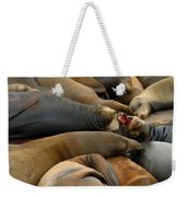 Sea Lions At Pier 39 San Francisco Weekender Tote Bag