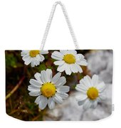 Sea Mayweed Weekender Tote Bag