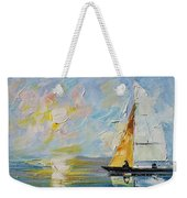 Sea Morning New Original Weekender Tote Bag