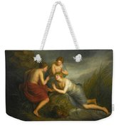 Sea Nymphs Discovering The Hair Of Medusa Turning To Coral Weekender Tote Bag