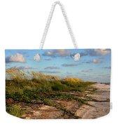 Sea Oats Along The Beach Weekender Tote Bag