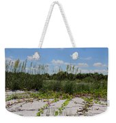 Sea Oats And Blooming Cross Vine Weekender Tote Bag