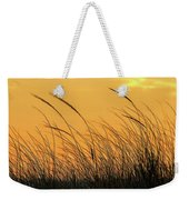 Sea Oats At Dusk Weekender Tote Bag