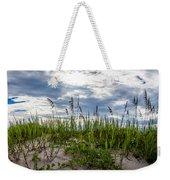 Sea Oats Sand Dune Sky Weekender Tote Bag