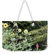 Sea Of Beautiful Flowers Weekender Tote Bag