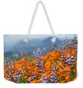 Sea Of California Wildflowers Weekender Tote Bag