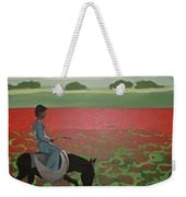 Sea Of Poppy Weekender Tote Bag