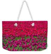 Sea Of Tulips Weekender Tote Bag