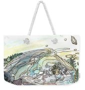 Sea Rock Weekender Tote Bag