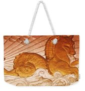 Sea Serpent Weekender Tote Bag