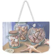 Sea Shell Collection Weekender Tote Bag