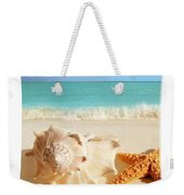 Sea Shell Seashell Clam Beach Decorative Square Zippered Throw Pillow Weekender Tote Bag