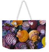 Sea Shells And Sea Glass Weekender Tote Bag