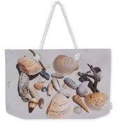 Sea Shells On White Sand Weekender Tote Bag