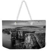 Sea Stacks, Yesnaby, Orkney, Scotland Weekender Tote Bag