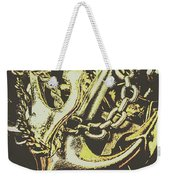 Sea Tides And Maritime Anchors Weekender Tote Bag