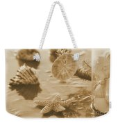Sea Treasure -sepia Weekender Tote Bag