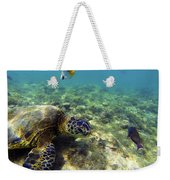Sea Turtle #1 Weekender Tote Bag