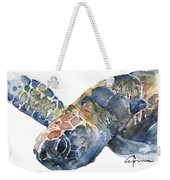 Sea Turtle - Large Size Weekender Tote Bag