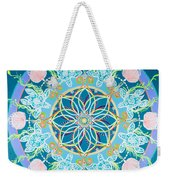 Sea Turtle Mandala  Weekender Tote Bag