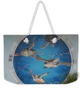 Sea Turtles Weekender Tote Bag