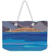 Sea View And Chapel Weekender Tote Bag
