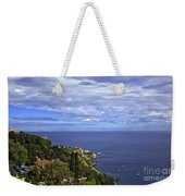 Sea View From Taormina Weekender Tote Bag