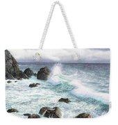 Sea Wave Weekender Tote Bag