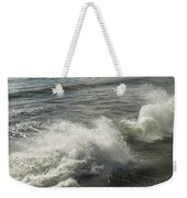 Sea Waves Weekender Tote Bag