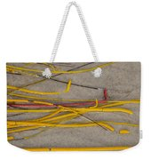 Sea Whip Coral Weekender Tote Bag