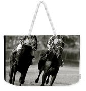 Seabiscuit Vs War Admiral, Match Of The Century, Pimlico, 1938 Weekender Tote Bag