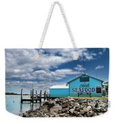 Seafood On The River  Weekender Tote Bag