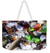 Seaglass Background Weekender Tote Bag