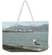 Seagull And Golden Gate Bridge Weekender Tote Bag