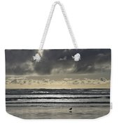 Seagull At Cannon Beach Weekender Tote Bag