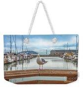 Seagull At Pier 39 Weekender Tote Bag