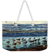 Seagull Get-together Weekender Tote Bag