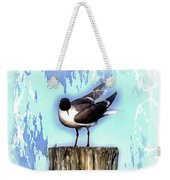 Seagull - Laughing Gull Pop Art  Weekender Tote Bag