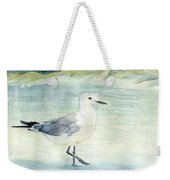 Seagull On The Beach Weekender Tote Bag