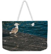 Seagull On The Pier Weekender Tote Bag